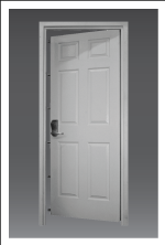 ProSteel Vanguard Security and Tornado Door | ProSteel Security Products