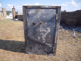 Browning ProSteel Safe survives a house fire